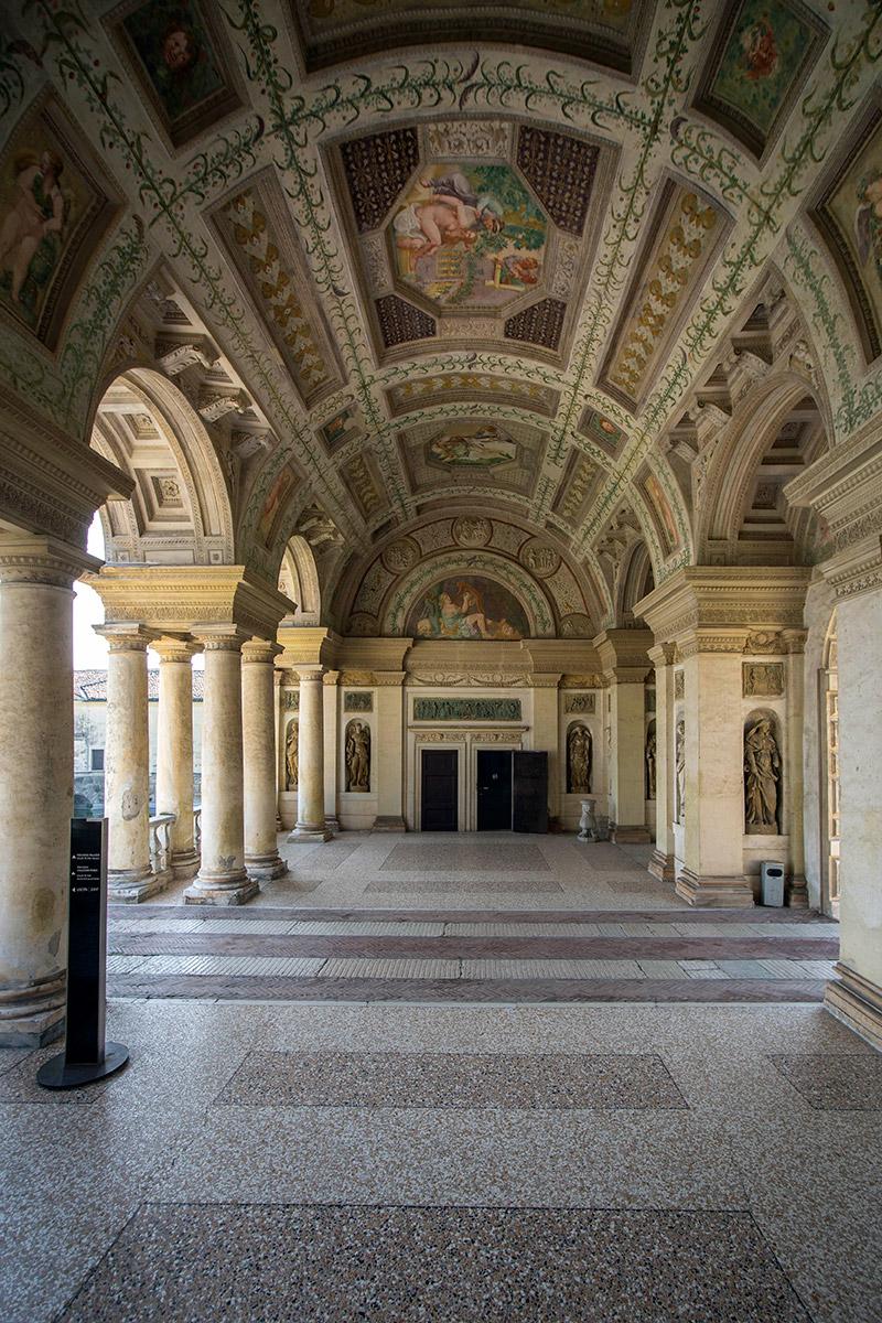 Palazzo te fondazione palazzo te for Stanza mantova